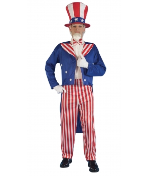 Costum carnaval barbati Uncle Sam
