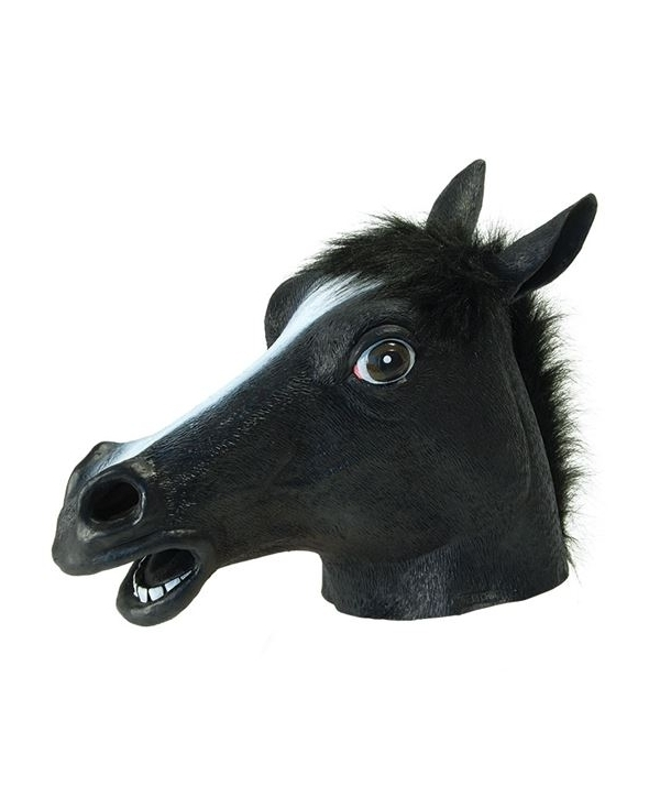 Masca Halloween cal negru
