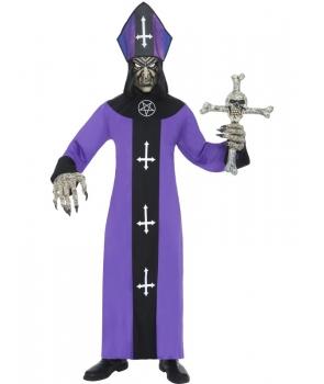 Costum Halloween adulti episcop horror