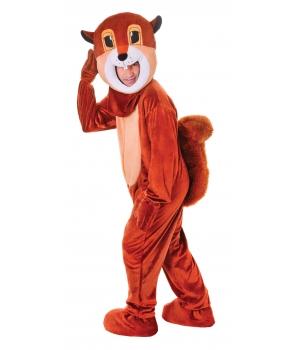Costum carnaval adulti mascota veverita