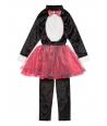 Costum carnaval fete pisica cu fustita roz