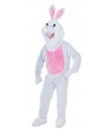 Costum carnaval mascota iepure cu roz