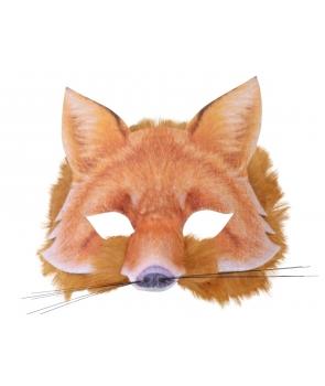 Masca de vulpe autentica