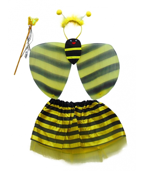 Set albina cu fusta
