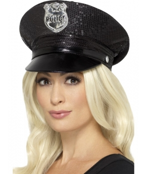 Palarie politista de lux