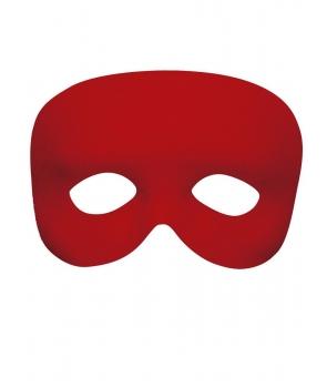 Masca de carnaval rosie