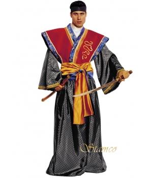 Costum barbati samurai Halloween