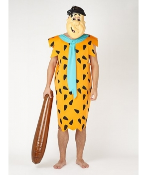 Costum carnaval barbati Fred Flinstone