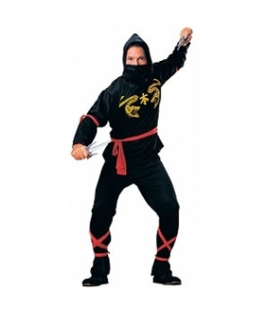 Costum barbati ninja Halloween