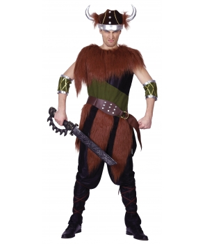 Costum carnaval barbati viking
