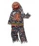 Costum Halloween baieti schelet dovleac