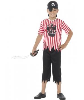 Costum carnaval baieti pirat cu bandana