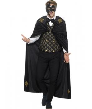 Costum Halloween barbati Fantoma de lux
