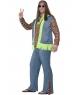 Costum carnaval barbati hippie