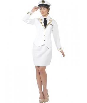 Costum carnaval femei ofiter naval