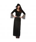 Costum Halloween femei negru cu dantela