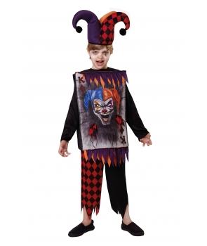 Costum Halloween baieti jester