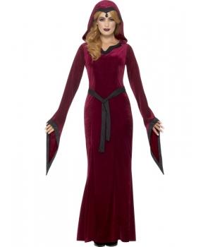 Costum Halloween femei vampirita medievala