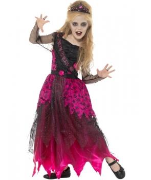Costum Halloween fete Regina balului de lux