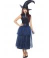 Costum Halloween femei vrajitoare cu brosa