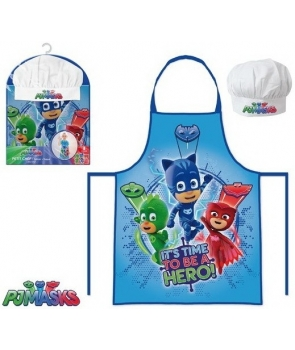 Set bucatar copii Eroi in Pijamale PJ Masks