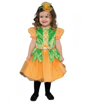 Costum Halloween fete dovlecica cu bentita