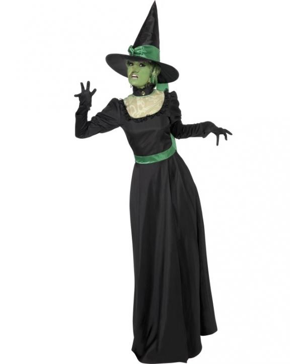 Costum femei vrajitoare eleganta Halloween
