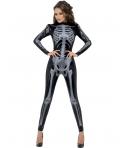 Costum Halloween femei schelet atragator