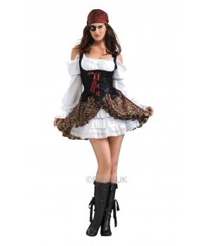 Costum carnaval femei pirata Bucaneer