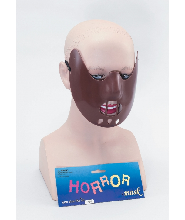 Masca de carnaval Hannibal Lecter