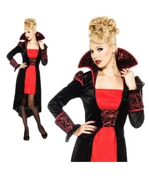 Costum Halloween femei Contesa vampirita