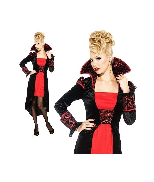 Costum adulti femei Contesa vampirita Halloween