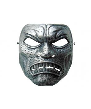 Masca Halloween argintie