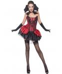 Costum Halloween femei vampirita eleganta