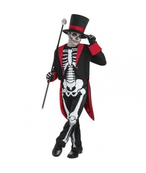 Costum Halloween baieti Mr. Bone
