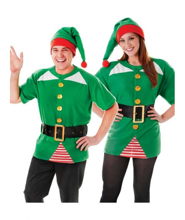 Set Craciun spiridus, elf unisex