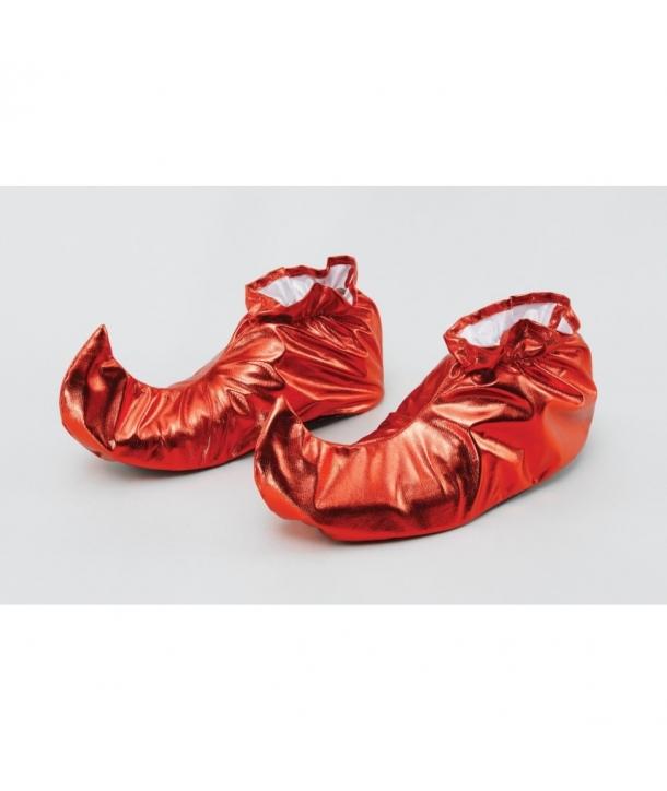 Pantofi spiridus rosii sau verzi