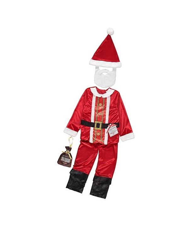 Costum Craciun baieti Mos Craciun model 1