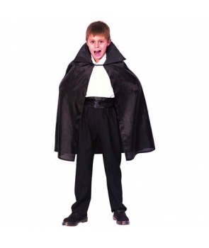 Pelerina Halloween neagra copii