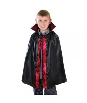 Pelerina Halloween copii neagra cu margine