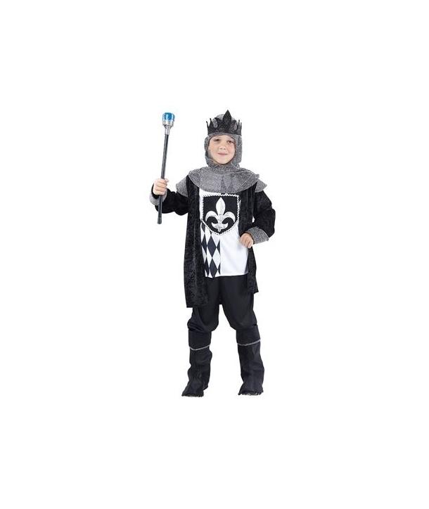 Costum baieti rege negru Halloween