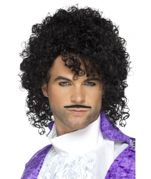 Peruca si mustata petrecere cantaret pop Prince