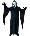 Costum Halloween baieti Screamer cu masca