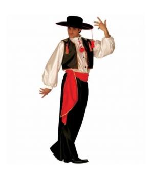 Costum carnaval barbato dansator Flamenco
