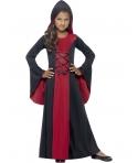 Costum Halloween copii vampirita cu gluga