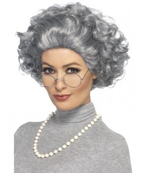 Set accesorii cu peruca bunicuta