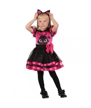 Costum fete pisicuta Halloween