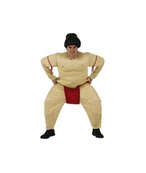 Costum carnaval adulti luptator Sumo