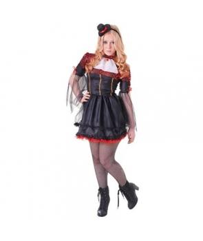 Costum Halloween adolescente vampirita