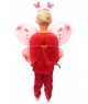 Costum carnaval baieti fluture rosu